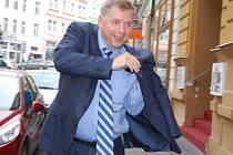 Petr Bendl (ODS) v Karlových Varech.