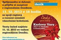 Česko zpívá koledy s Dení¨kem