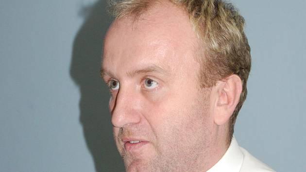 Tomáš Čermín, insolvenční správce Karlovarského porcelánu.