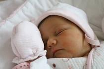 Viktorie Homolková z Karlových Varů se narodila 1.1. 2019.