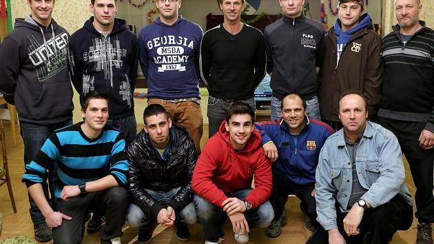 Fotbalový tým z Nového Kostela