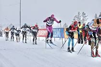 Třetí místo na slavném Vasově běhu připsala na účet eD system Bauer Teamu laufařka Kateřina Smutná.