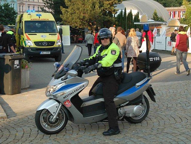 Pro policisty i strážníky je filmový festival vždy zatěžkávací zkouškou.