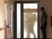 V Karlovarské krajské nemocnici cvičně zasahovali hasiči.