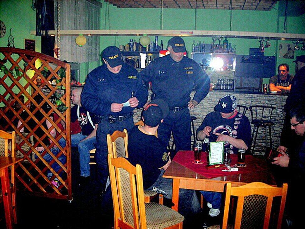 Policejní akce Úklid
