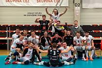 Vítězem základní části UNIQA extraligy se stali volejbalisté VK ČEZ Karlovarsko, kteří v posledním vystoupení porazili Liberec 3:1 na sety.