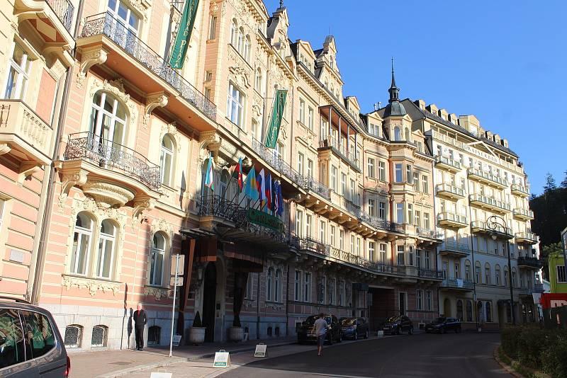 Mariánskolázeňská ulice.