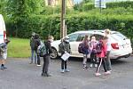 Škole v Kyselce zdarma zapůjčila na tento zlomový den jedna z firem termokameru. Pro děti byl nástup do školy zpestřením.