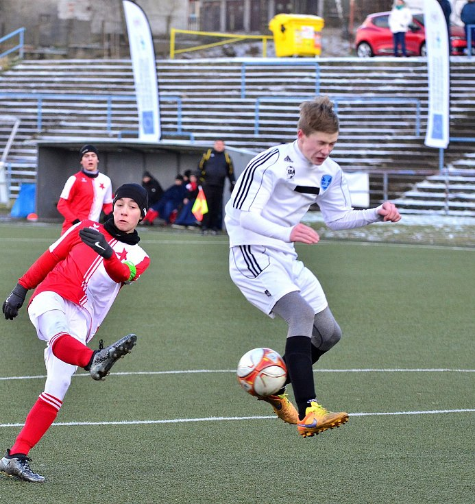 Třetí díl projektu Fotbalové turnaje bez hranic starších žáků byl kořistí FC Slavia Karlovy Vary.