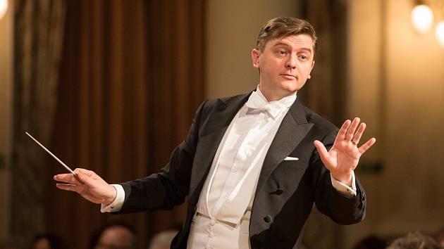 Šéfdirigent Jan Kučera.