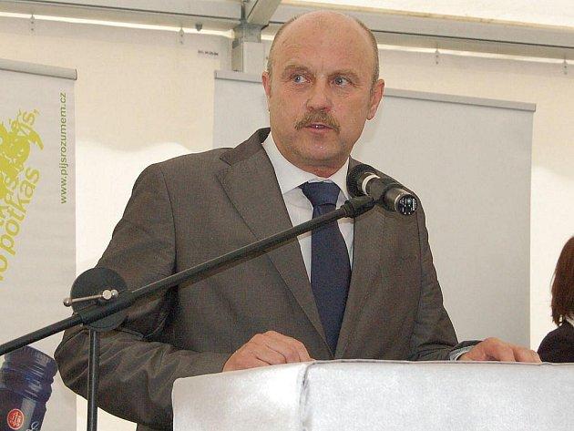 Hejtman Karlovarského kraje Josef Novotný.