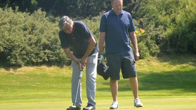 Golfový turnaj Golf Charity Party na hřišti v Olšových Vratech.
