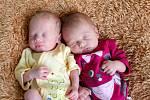 Maxmilián a Leontýnka Geierovi z Karlových Varů se narodili 6. 1. 2013