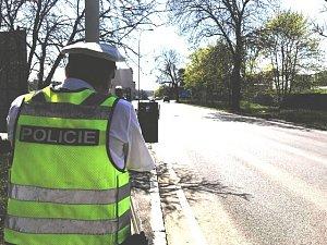 Policisté kontrolovali rychlost