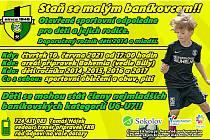Sokolovský Baník nachystal pro nové fotbalové naděje akci Staň se malým baníkovcem.