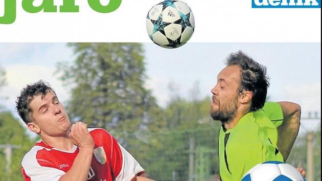 Fotbalovou přílohu Jaro 2018 věnovanou startu jarní části soutěží od České fotbalové ligy po I. B třídu připravil pro své čtenáře Deník.
