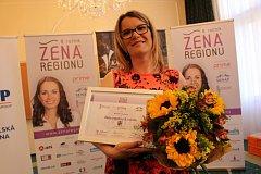 Žena regionu 2017 v Karlovarském kraji.