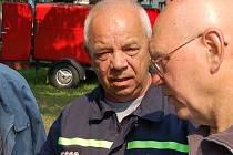 Alois Nápravník nastoupil k dobrovolným hasičům před čtyřiceti lety.