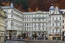 Grandhotel Pupp v Karlových Varech.
