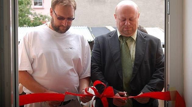Martin Maleček (vpravo).