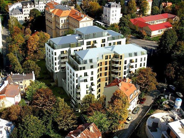 NOVÁ REZIDENCE. Takto si architekteři původně představovali komplex, který měl vzniknout vedle školy v Libušině ulici. Podoba objektu ještě není definitivně dořešena.