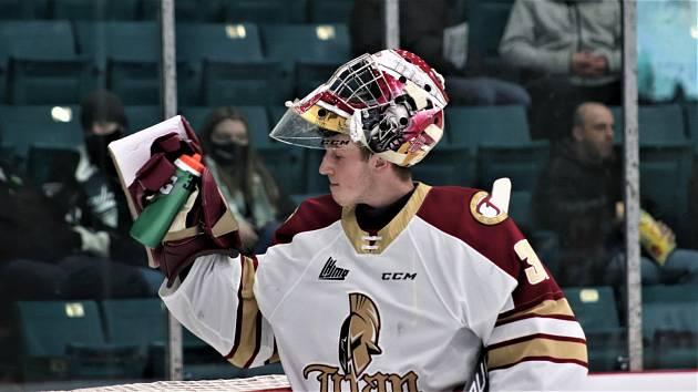 Jan Bednář v kanadské juniorské lize