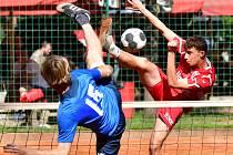 Hráči Liaporu se budou rvát v Doubí o víkendu o naději. Čeká je druhé semifinále s Čakovicemi.