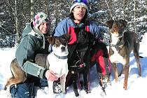 (Skoro)rodinný tým. Rudolf Chlad s přítelkyní Zuzanou Štrosovou.