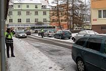 Dopravní nehoda v Karlových Varech - Staré Roli