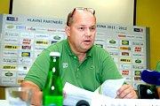 Genarální manažer HC Energie Miroslav Vaněk
