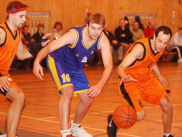 Basketbalisté karlovarské Thermie utrpěli v neděli druhou porážku v tomto ročníku Ligy mladých mužů. (Ilustrační foto.)