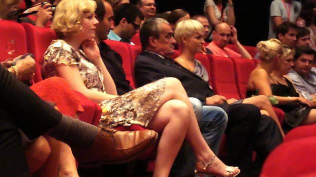 Karel Schwarzenberg na Mezinárodním filmovém festivalu.