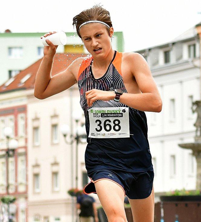 Mladíček Straka pomýšlí na úspěchy ve Slavii, ale atletické.
