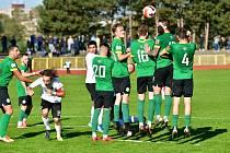 Sokolov urval cenný bod v souboji s rezervou 1. FK Příbram, se kterou remizoval 2:2, a dosáhl na desátý bod v ČFL.