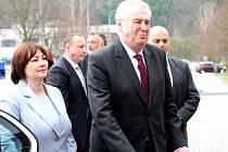 Prezident Zeman navštívil Krajský úřad v Karlovarském kraji