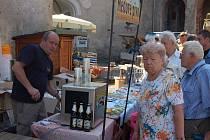 Tradiční akce Chvála medu na Horním hradě