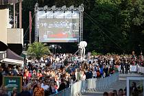 55. ročník filmového festivalu v Karlových Varech.