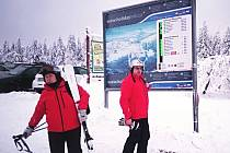Skiareál Boží Dar - Neklid