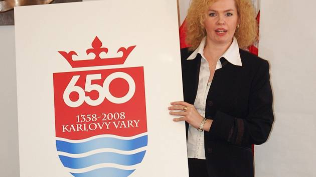 Speciální logo k 650. výročí založení Karlových Varů bude společným motivem veškerých oslav významného jubilea.
