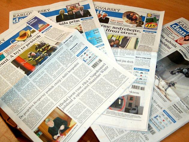 Na Karlovarsku si krom klasických medií můžete přečíst i ty politické