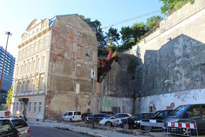 Někdejší sídlo policie v ulici I. P. Pavlova