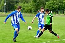 V sobotu 6. června se představí v rámci divizního derby na půdě Ostrova Mariánské Lázně, utkání bude zahájeno v 17 hodin.