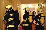 Prostory pětihvězdičkového hotelu Imperial v Karlových Varech zasáhl ničivý požár. Šlo o cvičení