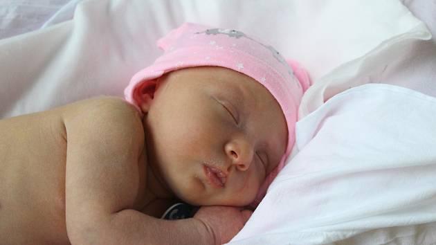 Soffie Lebo z Ostrova se narodila 11. prosince.