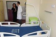 Karlovarská kardioologie se nově může postarat na moderním lůžkovém oddělení ažo 24 pacientů. Potřebuje k tomu ovšem dostatek personálu.