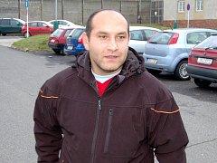 Ostrovský policista Martin Barkóci před svým nástupem do vězení.