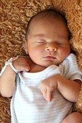 Matyášek Mičuda z Božičan se narodil 24. 12. 2012