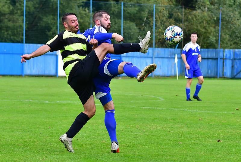 Čtvrtou výhru si připsali v krajském přeboru na účet fotbalisté Nejdku, kteří porazili Lomnici vysoko 8:1.