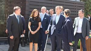 Premiér Andrej Babiš v Karlových Varech