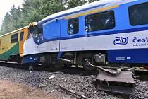 Srážka vlaků u Perninku.